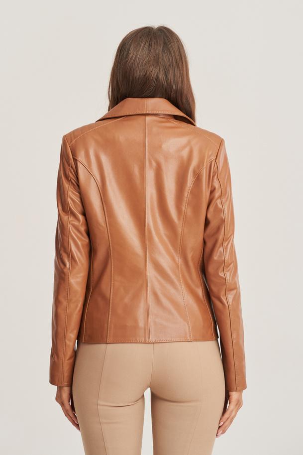 Dámská kožená bunda