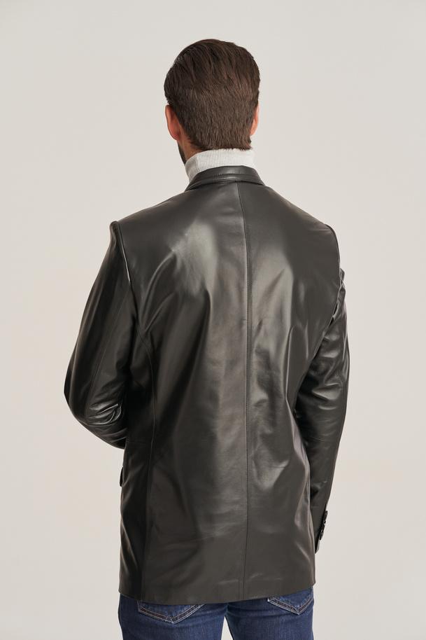 Kožené sako pánské
