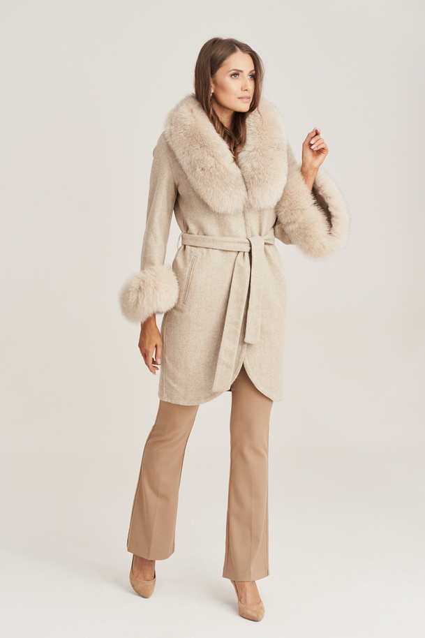 Płaszcz damski Alpaka